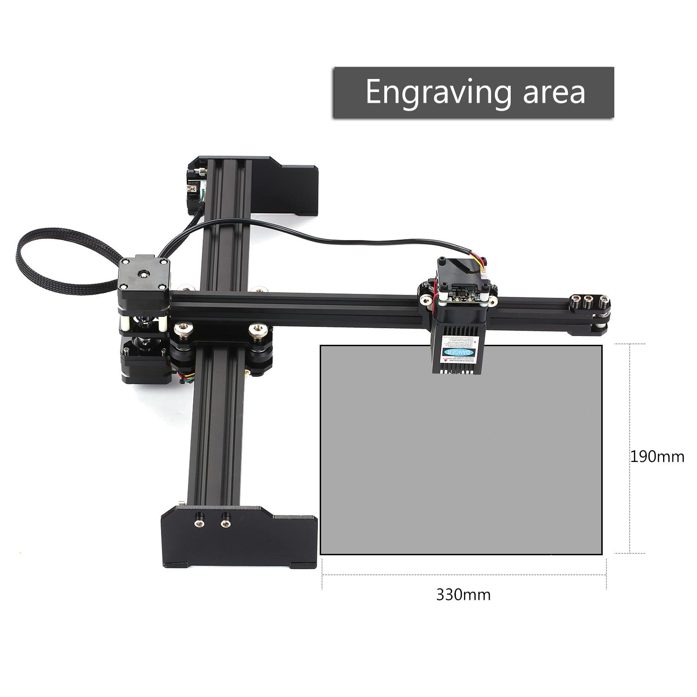 Portable bricolage gravure sculpture Machine bureau Laser graveur imprimante Mini sculpteur pour métal gravure sur bois 2.3/3.5/5/7/15/20W