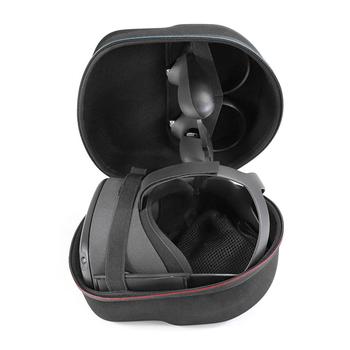 Przenośna pamięć masowa torba do Oculus Quest 2 zestaw do wirtualnej rzeczywistości kontrolery akcesoria odporna na wstrząsy torba podróżna do Oculus Quest 2 tanie i dobre opinie vanpower Przenośna torba Storage Bag Carrying Case for -Oculus Quest 2 VR Headset CN (pochodzenie) Bundle1 260*220*180mm