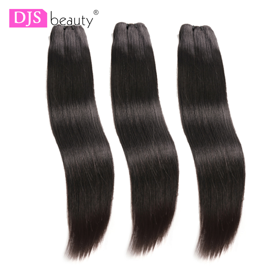 Straight Bundles Peruvian Virgin Hair Weave Bundles Human Hair Bundles Extension 3pcs Raw DJSbeauty Hair Products