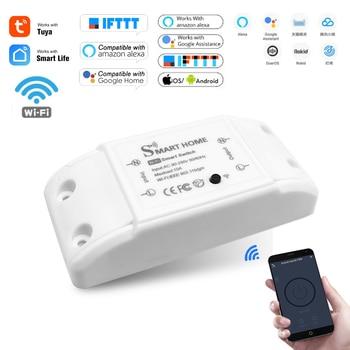 Smart Home House Wifi Wireless Remote Switch Breaker Domotic LED Light Controller Module Alexa Google Home Smartlife Tuya APP 1