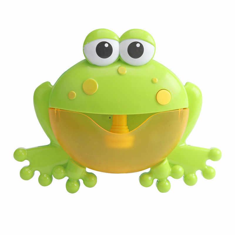 New Arrival Bubble kraby i żaba wieloryb wanienka do kąpieli zabawka śmieszne Bubble Maker basen basen wanna maszyna do produkcji mydła zabawki dla dzieci dzieci