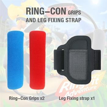 Elastico regolabile Leg Strap antiscivolo Controller Panno Anello di Copertura Grips per Nintend Interruttore Joy-Con Accessori Da Gioco