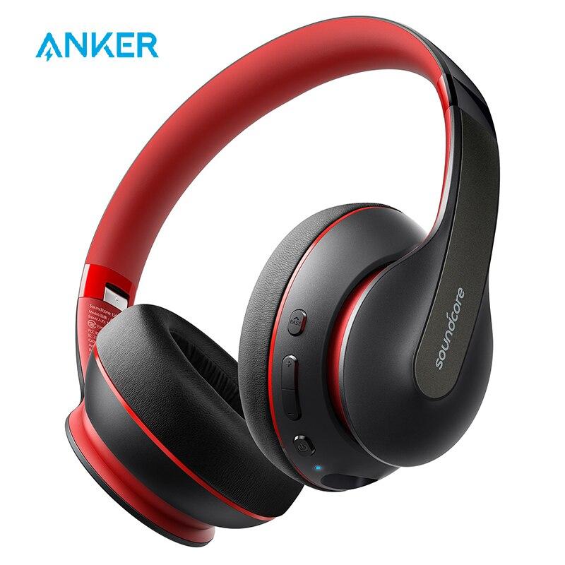 Anker Soundcore Leven Q10 Draadloze Bluetooth Hoofdtelefoon, Over Ear En Opvouwbaar, Hi-Res Gecertificeerd Geluid, 60-Uur Speeltijd