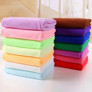 1pc Car Care Polishing Wash Towels Plush Microfiber Washing Drying Towel Strong Thick Fiber Car Cleaning Towels 30cm x 30cm image
