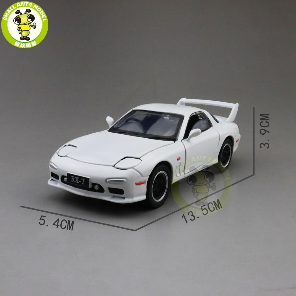 Image 2 - 1/32 JACKIEKIM MAZ DA RX 7 RX 7 литая модель автомобиля игрушки для детей Детское звуковое освещение подаркиИгрушечный транспорт   -