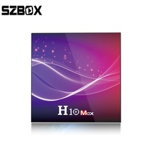 H10 MAX smart tv box android 10.0 Allwinner H616 4GB RAM 32GB ROM 2.4G wifi 6K  Android tv box 4GB64GB media player prefix