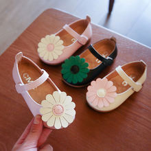 Кожаная обувь для девочек; Обувь маленьких детей на плоской