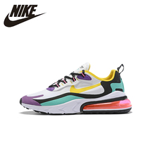 Nike Air Max 270 React Man Running Shoes Breathable Sports Sneakers NEW ARRIVAL # AO4971 nike air max 270 react new arrival men running shoes air cushion outdoor sports sneakers men original ao4971