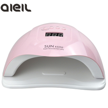 Nail-Lamp Nail-Dryer-Machine Plus Sun-X5 Uv-Gel-Polish Quick-Drying 80W for Led-Gel