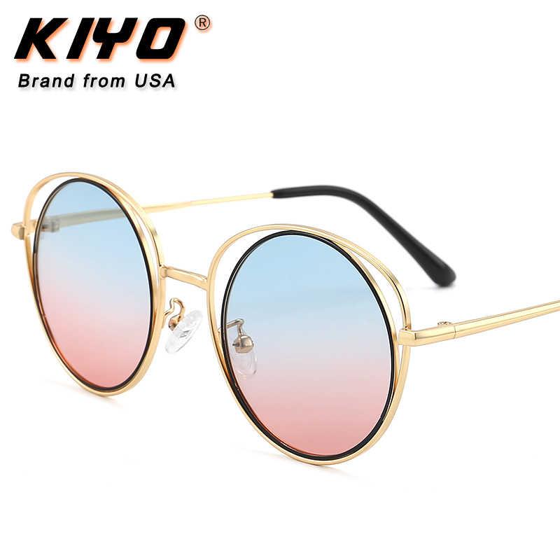 קייו מותג 2020 ילדים חדשים עגול מקוטב משקפי שמש מתכת אופנה משקפיים שמש באיכות גבוהה UV400 נהיגה Eyewear 3035