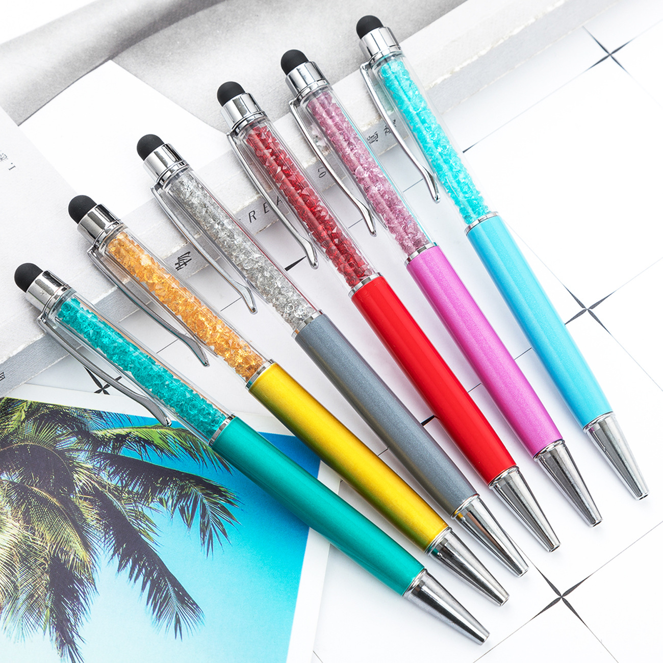 100Pcs Personalized Gift For Wedding Baptism Engagement Birthday Bridal Baby Shower Party Custom Ballpoint Pen Favor For Student