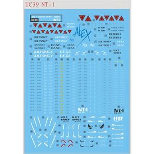 Image 2 - DIY Water Slide Stickers for Bandai MG 1/100 RX 78 NT 1 Gundam Alex ver 2.0 Model Decal