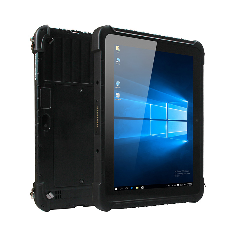 UNIWA WinPad W106 10.1 Inch 2in 1 <font><b>Smartphone</b></font> Tablet PC IP65 Waterproof WCDMA Mobile phone Windows 10 Cellphone <font><b>10000mAh</b></font> 2G+32G image
