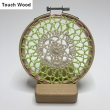 Handmade Lace Accessory Decoration Cases Jewelry Earring Display Decor / diameter 10cm