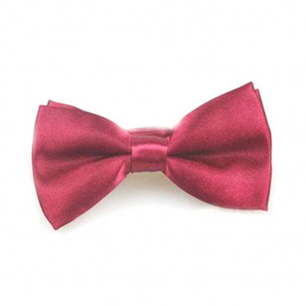 Children Bow Tie Classic Kid Bowtie Boys Grils Ties Baby Fashion Accessories Solid Color