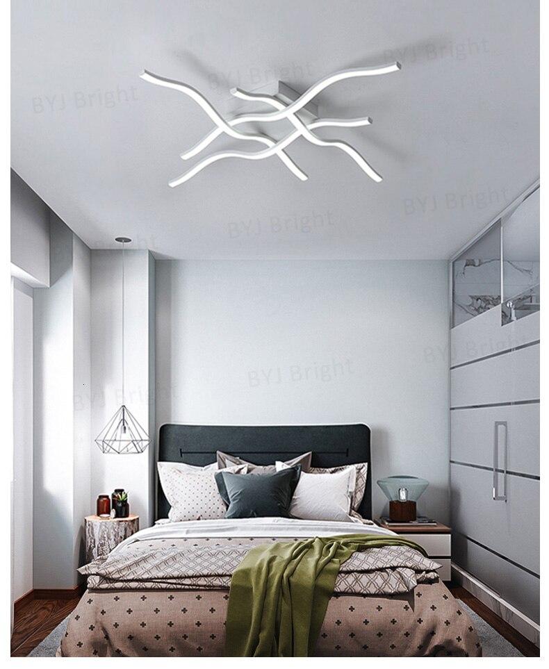 H33221d21fcf24ce18c9bc2b4572dcc8cA Homelight | Modern Floor Lamps | Creative Modern LED Ceiling Lights For Living Room Bedroom Kitchen Black/White Deco Ceiling Lamp Indoor Home Lighting Fixtures 001
