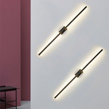 Nordic led bedside wall lamp bedroom stair wall lamp modern minimalist bathroom fresco mirror headlight corridor light