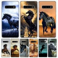 Funda de teléfono de la serie Horse, carcasa para Samsung Galaxy S10 S20 Ultra Note 10 9 8 S9 S8 J4 J6 J8 + Lite Plus Pro S7
