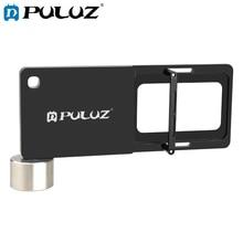 PULUZ محول لوحة تثبيت للهاتف المحمول ، متوافق مع GoPro HERO 9 Black/HERO 8 Black ، لـ DJI OSMO Mobile 3 Gimbal