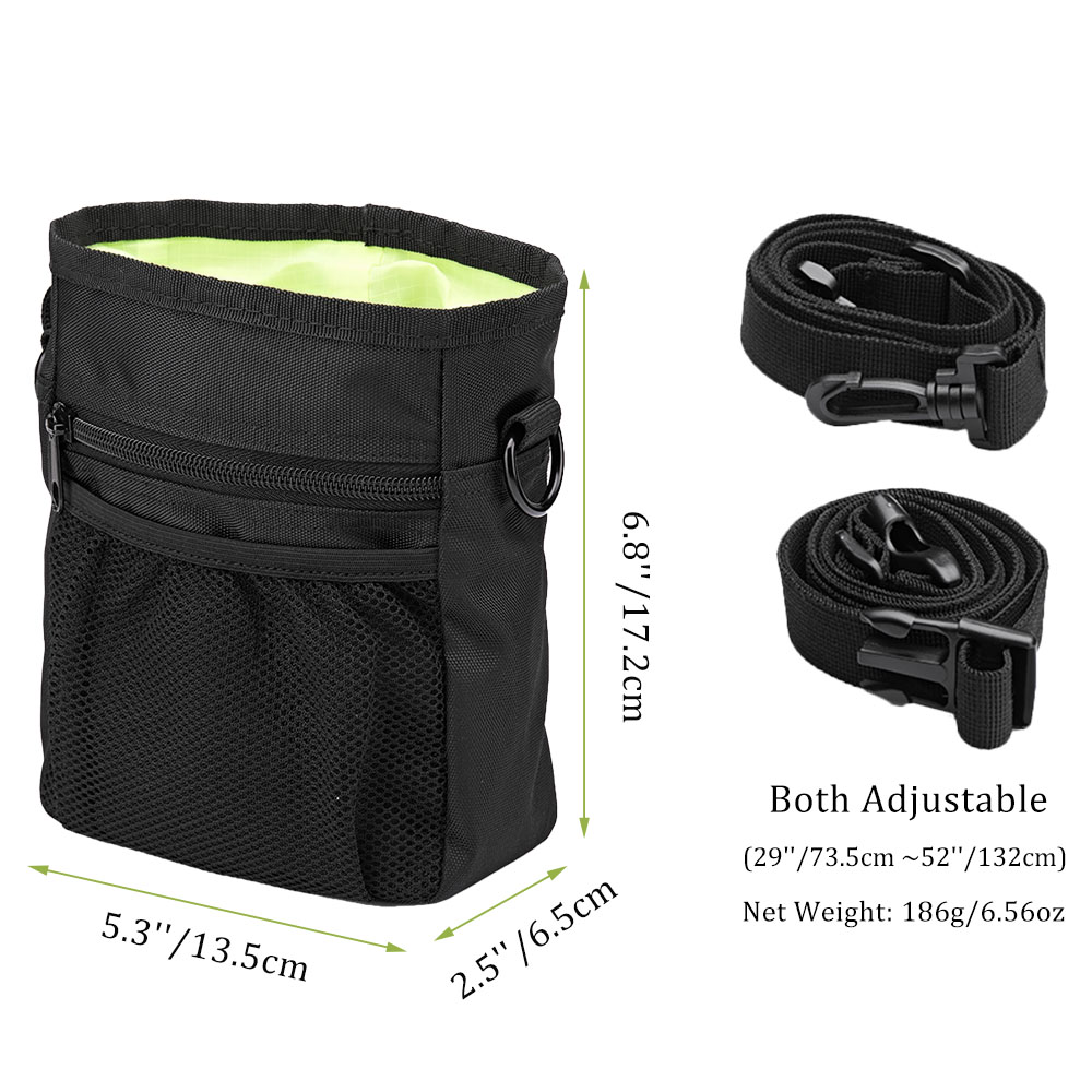 Pet Dog Training Treat Snack Bait Portable Pet Feed Pocket Pouch Waist Back Outdoor Pouch Food Bag Dogs Snack Bag Pack 2