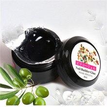 1 Box UV Acrylic Nail Glue For Rhinestones False Nail Art Tips UV Gel Rhinestone Manicure Sticking Adhesive Tips GY08 8g