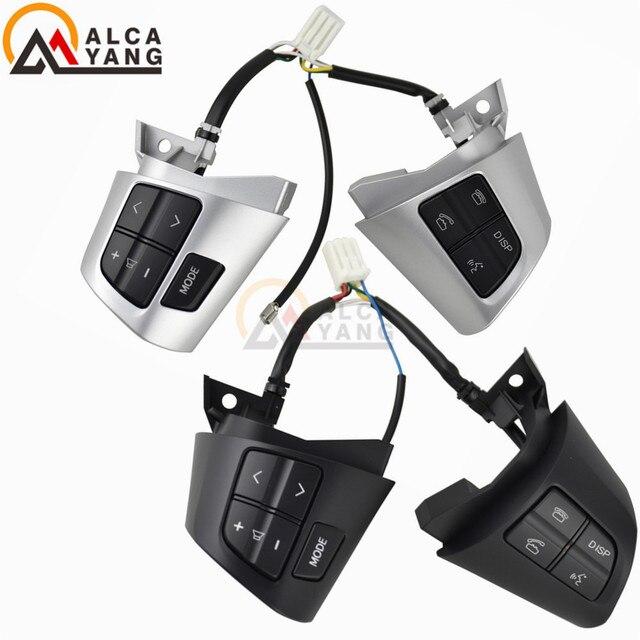 Para toyota corolla ade150 nde150 nre150 zre15 * zze150 2007 2013 volante botão de controle de áudio.