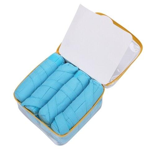 Rolos de Cabelo Sono Estilor Longo Algodão Rolos Faça Você Mesmo Ferramentas Estilo Cor Azul Magia Cabelo Vestir Encantador Penteado Kit Mod. 108121
