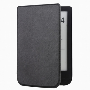 Slim Leather Cover Case for Pocketbook 632 Touch Lux 4 627 HD3 632 Basic2 616 Ereader +screen Film(China)