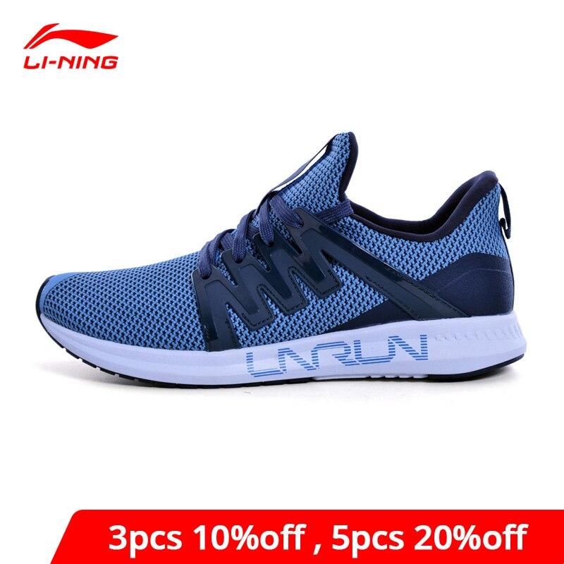 Li-Ning Men LNRACER Light Running Shoes Breathable Wearable LiNing Li Ning Comfort Sport Shoes Fitness Sneakers ARBN027 XYP852