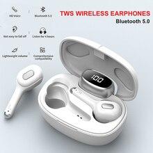 Bluetooth Headphone Tws Wireless Earphones stereo ear hook Touch HIFI Earphone Sports Stereo Sound