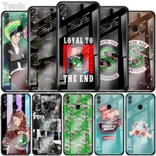 Riverdale South Side Serpents Case for Huawei Honor 10X 5G 9X 8X View 30 Pro Plus 20 10 Lite Y6 Y7 Y9 Prime 2019 Glass Cover