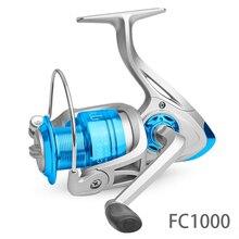 Spinning Fishing Reel 10BB + 1 Bearing Balls FC1000-6000 Series Metal Coil Boat Rock Wheel