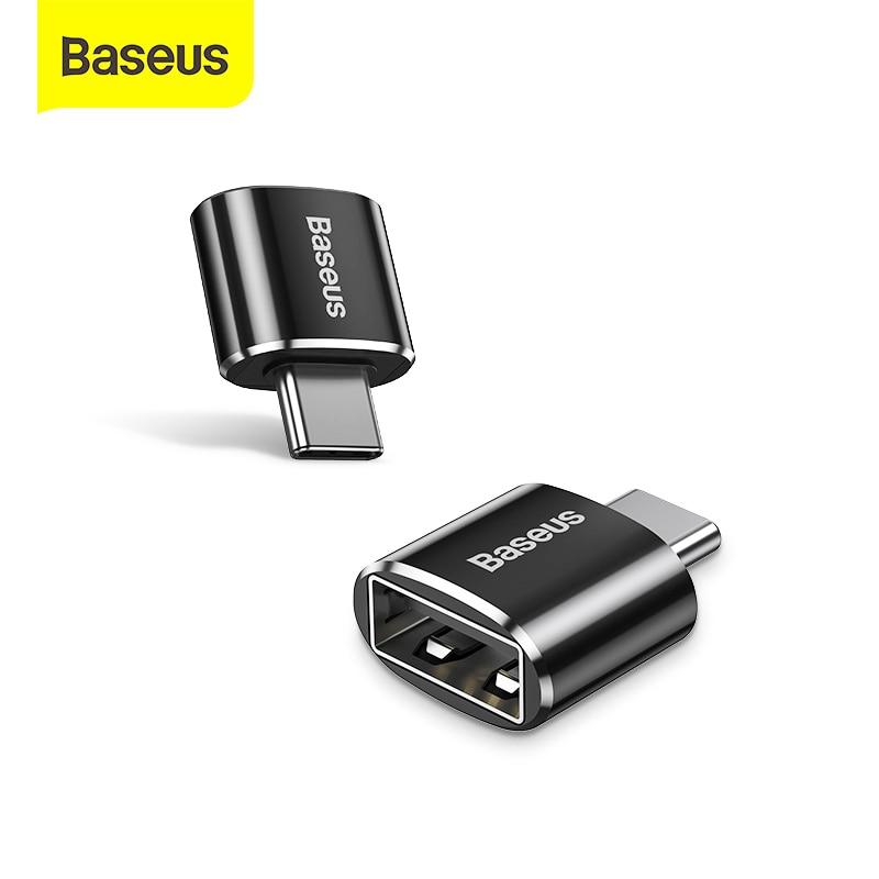 Tipo c do adaptador otg de baseus usb c para o adaptador de usb tipo-c otg cabo do adaptador para o ar de macbook pro samsung s20 s10 usb otg