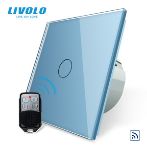 Image 3 - Livolo EU Standard Remote Switch, AC 220~250V Wall Light Remote Touch Switch With Mini Remote Controller C701R 11 RT12,no logo