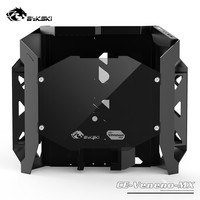 Bykski MOD DIY Case ATX Gaming PC Computer Chassis Material is Aluminum & Tempered glass CE Veneno MX