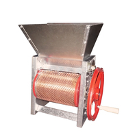 BP 120 # Manual coffee bean peeling machine Coffee bean fresh fruit processing machine Peeling rate> 98%