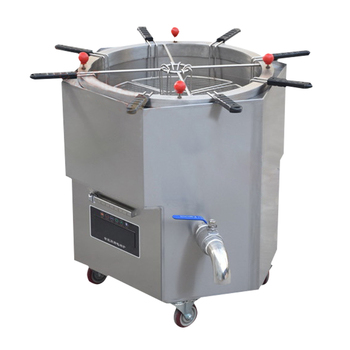 12KW/15KW Commercial Induction Cooker Rotary Cooking Dumpling Machine Sub-cooking stove Stainless steel induction cooker 1