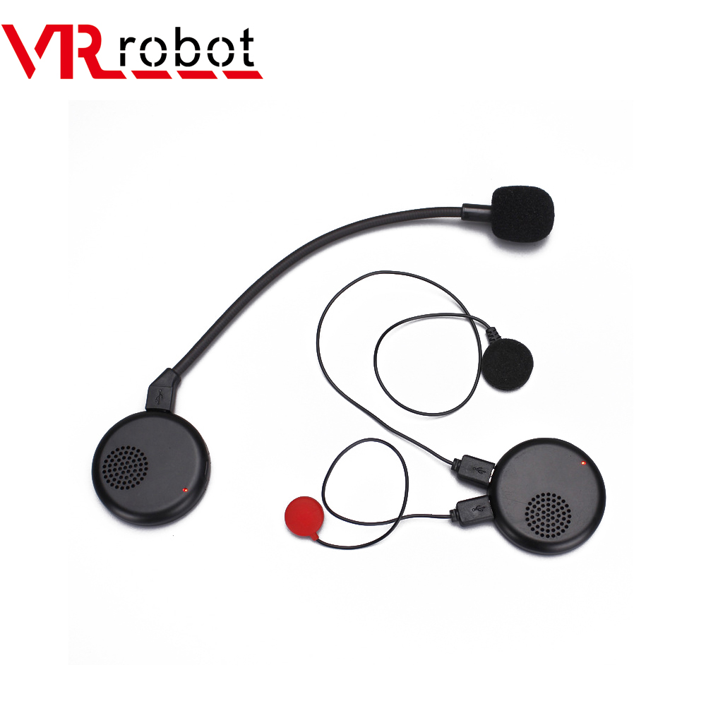 VR Robot Universal Motorcycle Helmet Headset Anti-interference Bluetooth Stereo Handsfree Headset Moto Headphone For Riding