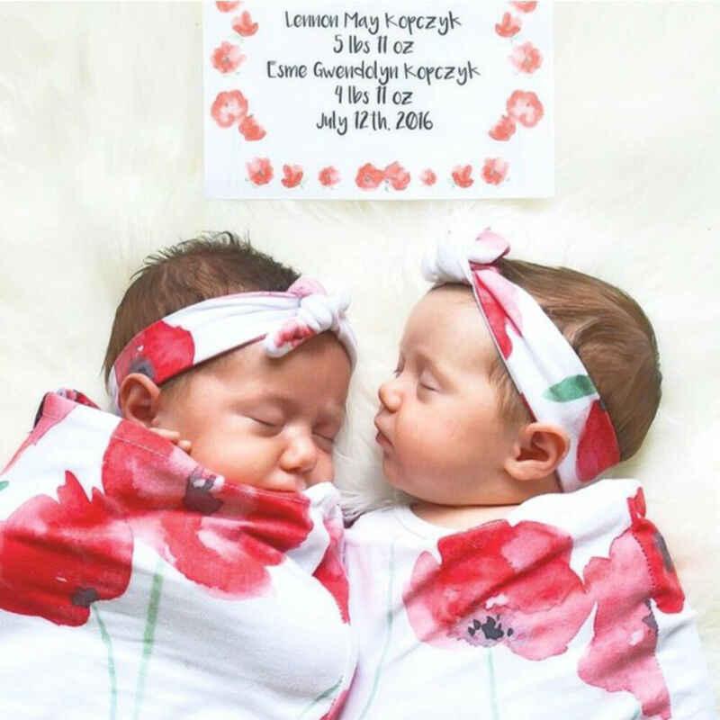 2 قطعة الوليد الفراش النوم أكياس فتيات صغيرات يتدربن على المشي قماط بطانية النوم الفتيان قماش للف الرضع مجموعة عصابات رأس الطفل صور الدعائم