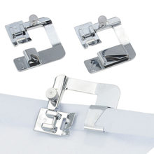 1PC 13/19/22mm Domestic Sewing Machine Foot Presser Rolled Hem Feet Set For Brother Singer Sewing Accessories 3 Size