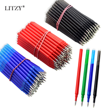 10pcs Erasable Gel Pen Refill 0.5mm Black/Blue/Red Ink Bullet Erasable Pen Refill Office School Writing Stationery Accessories коллинз м через золотые врата