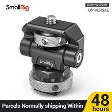 SmallRig Swivel and Tilt Adjustable Monitor Mount with Cold Shoe Mount For SmallHD/Atomos/Blackmagic Monitor/Screen Mount -2905