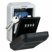 Коробочка для ключей с паролем настенный металлический погодозащищенный