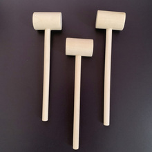 Toy Hammer-Balls Lobster Seafood Pounder Wooden Mallets Crackers Mini Crab 20pcs Replacement