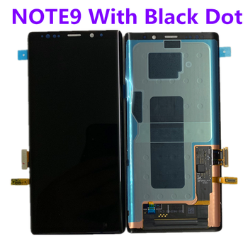 Original  AMOLED Display For SAMSUNG Galaxy NOTE9 LCD N960 N960F Display Touch Screen Replacement Parts with line original amoled display for samsung galaxy note9 lcd n960 n960f display touch screen replacement parts screen