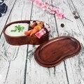 Топ-натуральный лаконичный однослойный портативный деревянный Ланч-бокс с связью для студентов