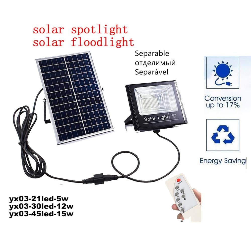 Led Light Outdoor Waterproof Solar
