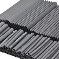 127 unids/set manguito termorretráctil surtido de tubos Cable de aislamiento eléctrico Cable de envoltura de Cable eléctrico impermeable
