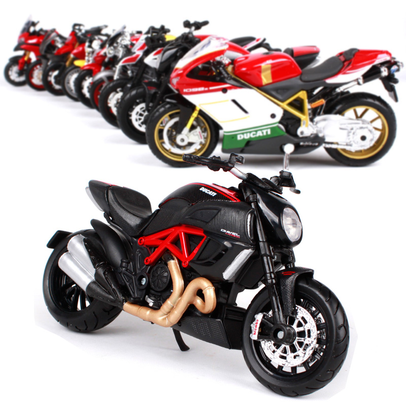 Maisto 1:18 Ducati Motorcycle Metal Model Toys For Children Birthday Gift Toys Collection