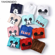 women hoodies 2019 new fashion o-neck cute cartoon printed long sleeve sweatershirt femme winter thick casual basic pullovers
